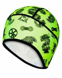 Cycology Thermal Beanie - Velosophy (Lime)