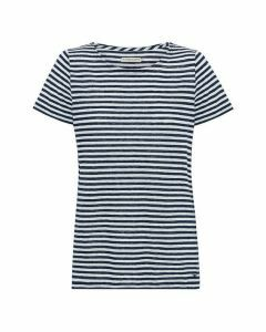 RM Williams Victoria Stripe T-Shirt - Navy/White