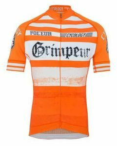 Cycology Performance Cycling Jersey - Vintage Grimpeur