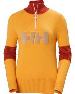 Helly Hansen Womens Tricolore Knitted Sweater Saffron