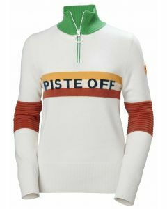 Helly Hansen Womens Tricolore Knitted Sweater White