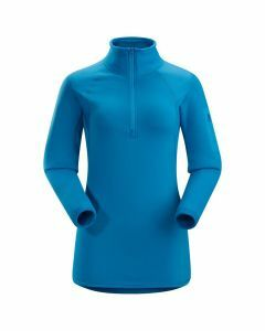 Arc'teryx Womens RHO AR Zipneck Antilles Blue