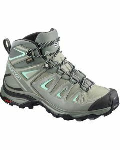 Salomon Womens X Ultra 3 Mid GTX - Shadow/Castor Gray/Beach Glass