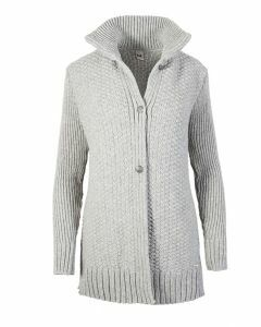Dale of Norway Womens Gundrun Cardigan - Light Charcoal