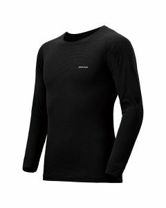 Montbell Mens US Zeo-Line Middle Weight Round Neck Shirt