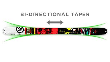 Bi-Directional Taper
